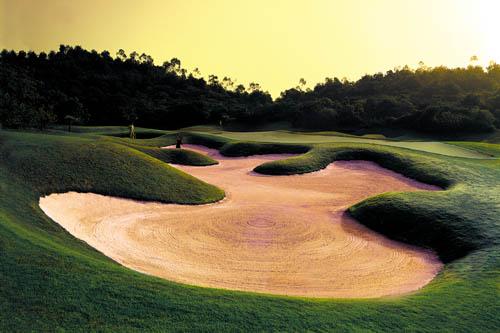 图文:观澜湖高尔夫俱乐部风光 尾崎将司球场