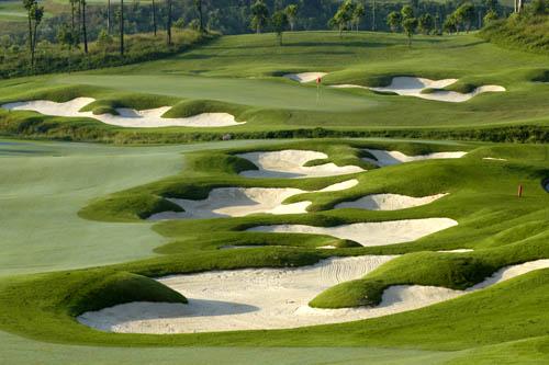 图文:观澜湖高尔夫俱乐部风光 安妮卡球场一览