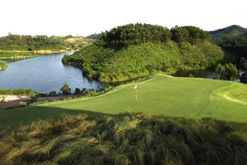 图文:观澜湖高尔夫俱乐部风光 诺曼球场一览