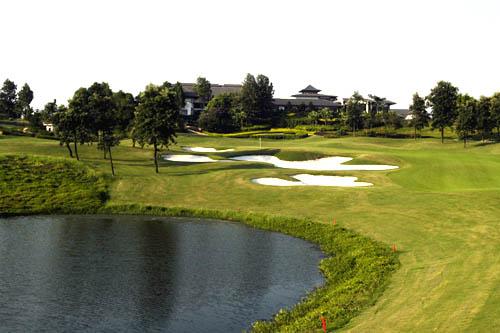 图文:观澜湖高尔夫俱乐部风光 世界杯球场一览
