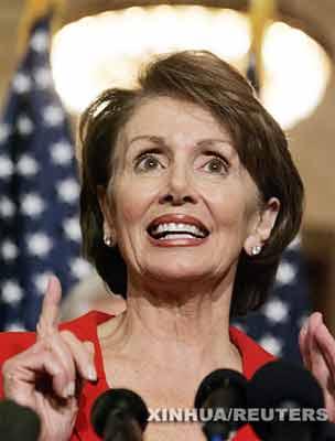 美国众议院大嘴老美女