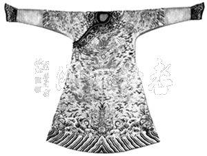 清龙袍的纹饰