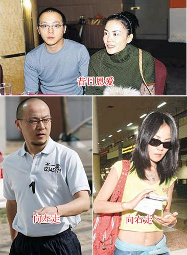 新离婚时代 细数娱乐圈十大劳燕分飞夫妻(图)