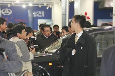 中共中央政治局常委李长春观看长城汽车