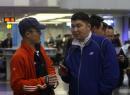 图文:华奥搜狐前方报道组 敖铭采访蒙古运动员