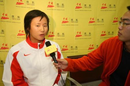 专访世界冠军徐莉佳:亚运挑战男选手 伤势未愈