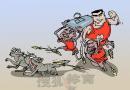 NBA漫画:火箭剿狼,众将齐发威