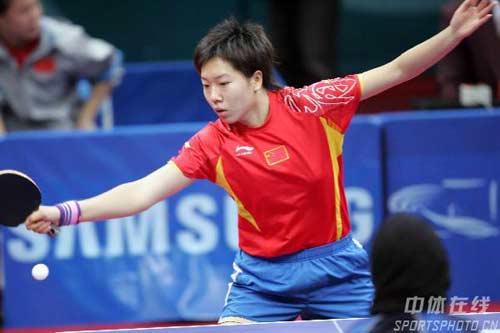 图文:中国乒乓球女队开赛战胜科威特队