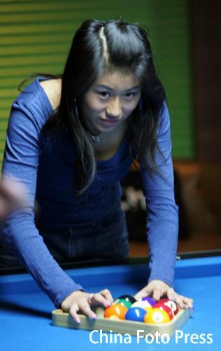 中国男子台球队某队员因感情问题 骚扰女队员