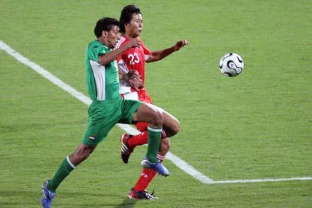 赵铭透露国奥队有些紧张 杜伊要求下半场打反击