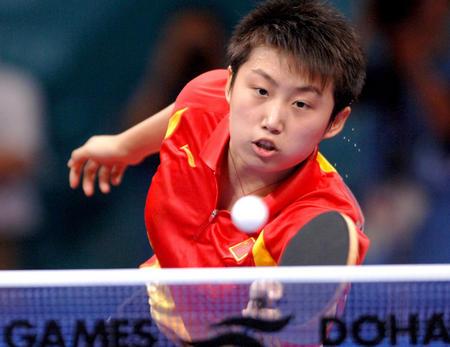中国女乒遭遇小小考验 有惊无险击败日本进4强