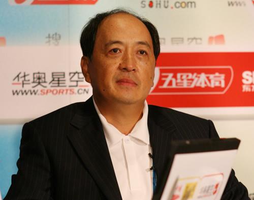 独家图片:肖天做客华奥聊天-多哈为2008练兵