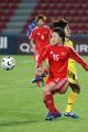 图文:亚运女足赛中国7-0泰国 任丽萍在比赛中