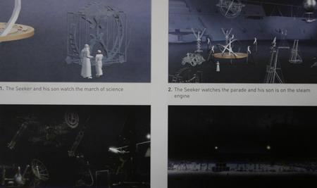 图文:多哈开幕式流程 主题演出之未来之城