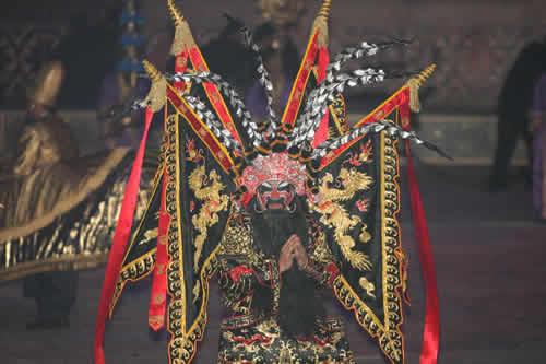 图文:多哈亚运会开幕式 京剧艺术助兴亚洲盛会