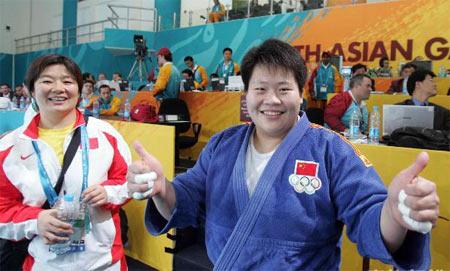 女柔轻松夺冠 佟文师徒坦言下个目标将是08夺冠