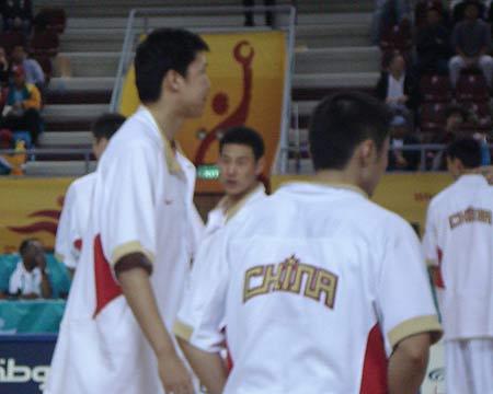 中国VS哈萨克斯坦