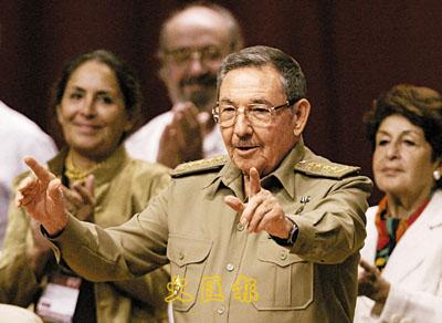 领导人卡斯特罗80岁生日及武装部队建立50周年,然而卡斯特罗本人未图片