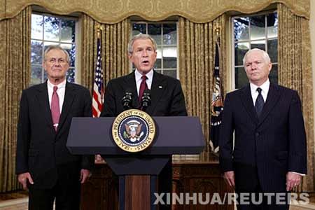 美国候任防长妄谈台海 称必要时协防台湾(图)