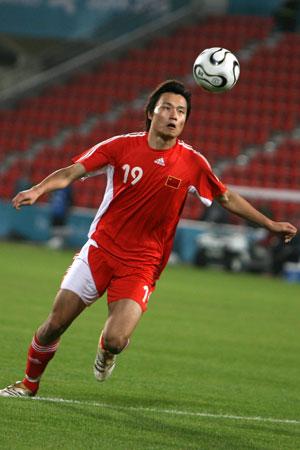 图文:中国国奥3-1胜马来西亚 郜林攻入第二球