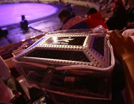 图文:多哈亚运开幕式 金光灿烂