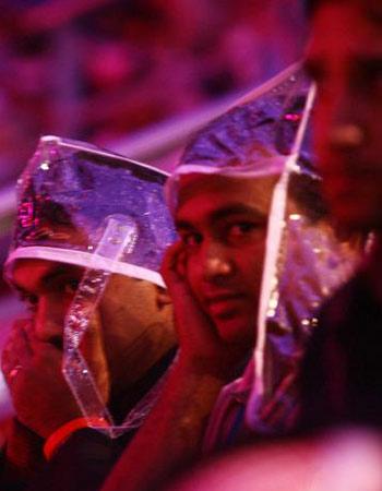 图文:多哈亚运开幕式 参演人员