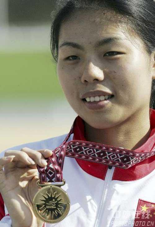图文:亚运会射击比赛第三日 中国队又添两金