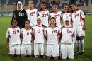 独家图片:女足12-0大胜对手 约旦队首发阵容