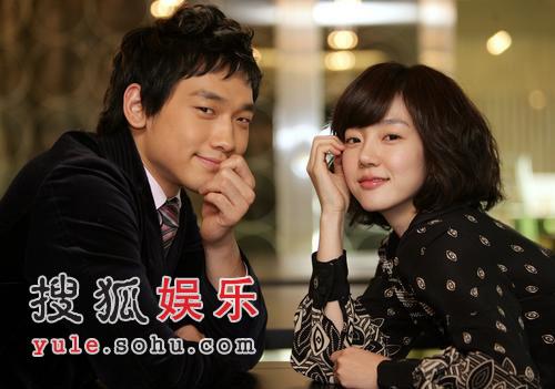 Rain《机器人之恋》宣传照 与林秀晶亲密搭档