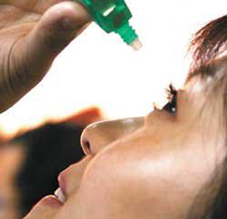 护理液能当眼药水用吗