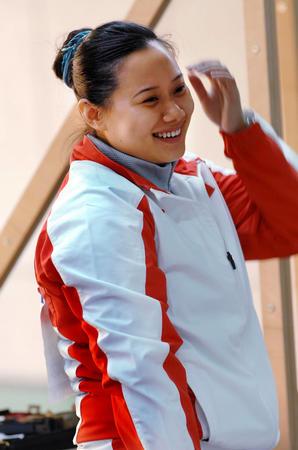 图文:多哈亚运会 女子25米手枪团体赛中国折桂