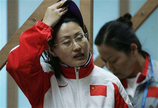 图文:亚运射击女子25米手枪决赛 陈颖轻松夺冠