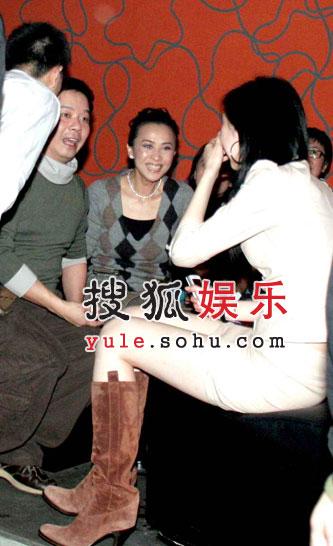刘嘉玲张震自家酒吧畅饮 梁朝伟拒不光顾(图)