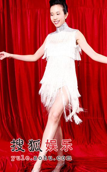舞林复赛第三场造型 莫文蔚超短裙秀长腿(组图)