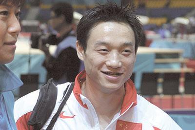杨威:体操比得就是成功率 两年后还是我们(图)