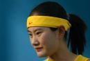 图文:亚运女曲中国VS韩国 队员陈秋琦在比赛后