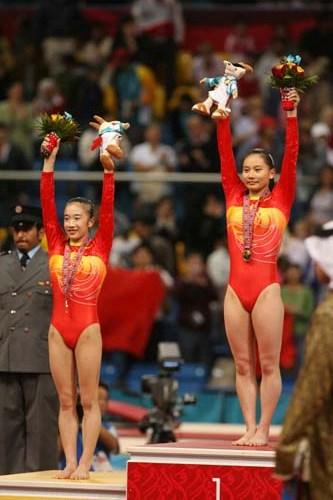 中国体操队书写神话 张楠夺冠实现亚运百金梦想