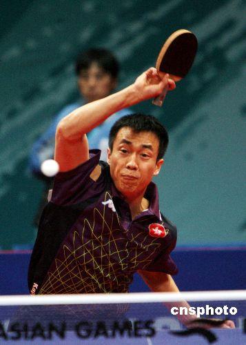 图文:乒乓球男单半决赛李静不敌马琳 无缘决赛