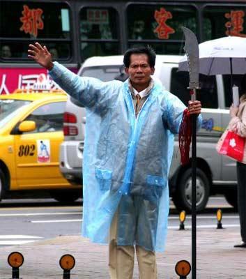 台北选战李熬公布笨人标准 称美国才是台湾敌人