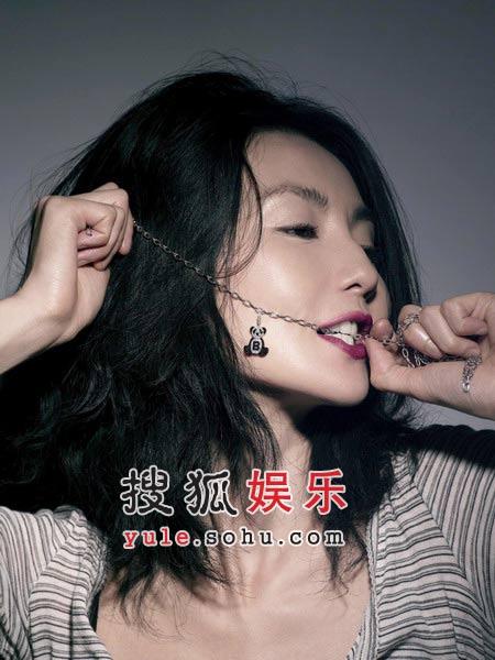张曼玉代言珠宝首饰 轻启朱唇姿态撩人(组图)