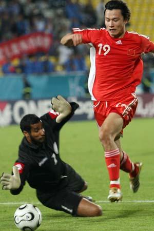 郜林感谢周海滨助攻 球传得舒服我只是跑位(图)