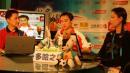 图文:杨威做客华奥搜狐聊天室 阐述自己的观点