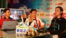 图文:杨威做客华奥搜狐聊天室 现场气氛轻松