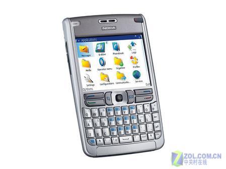 超强全键盘商务手机 诺基亚E61重新到货