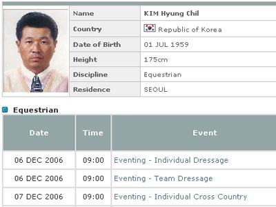 金亨七个人资料:高龄出征亚运会 曾是世界亚军