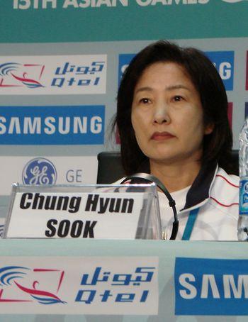 韩国代表团团长全贤淑表遗憾 我负全部责任(图)