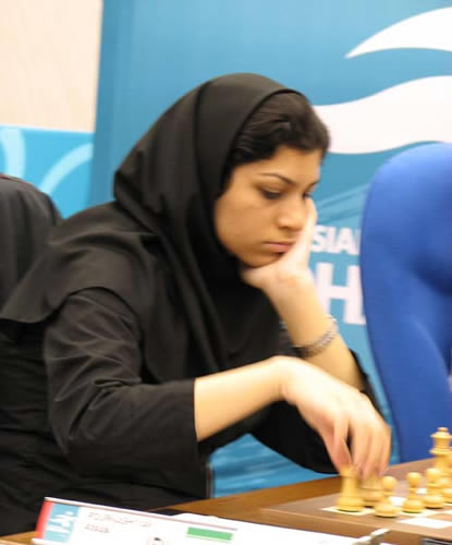 图文:国象团体次轮伊朗获胜 波尔卡什延比赛中