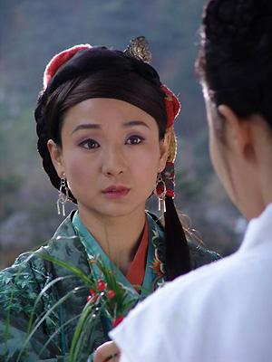 孔琳版黄蓉_孔琳在张纪中版《神雕侠侣》中饰演黄蓉