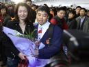 图文:亚运健儿归来 乒乓球男队主教练刘国梁
