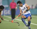 图文:亚运会中国男曲0-3韩国 中国队进行防守